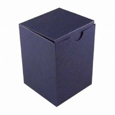 Navy Blue Tall Designer Favour Boxes